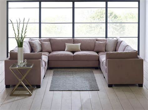 U Shaped Settee furniture large u shaped sectional tufted with ottoman excellent u shaped