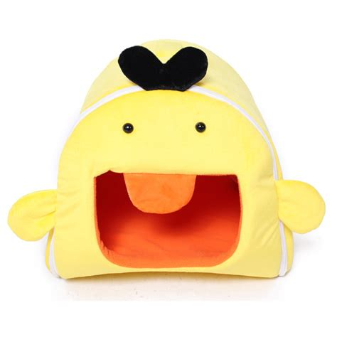 yellow dog house yellow duck shape pet dog cat house kennel alex nld