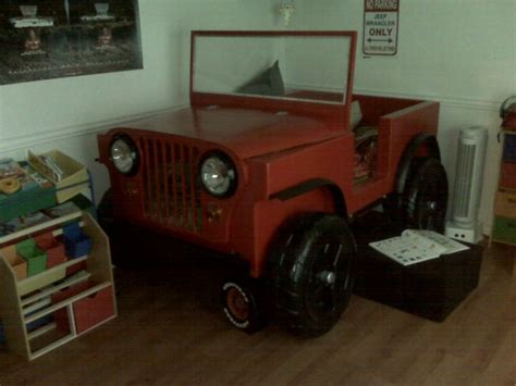 jeep bed in jeep bed for any cool kid man cave pinterest jeeps