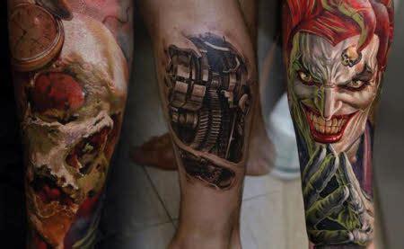 tattoo 3d en la pierna tatuajes en pierna tatuajes para hombres imagenes y dise 241 os