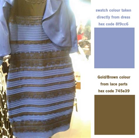 color hex codes thedress  color   dress
