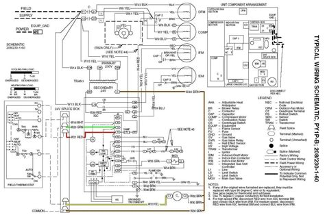 honeywell visionpro th8000 wiring diagram goodman