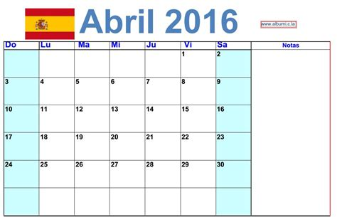 calendario progresar mes abril 2016 3 calendario de abril 2016 para imprimir calendars 2018