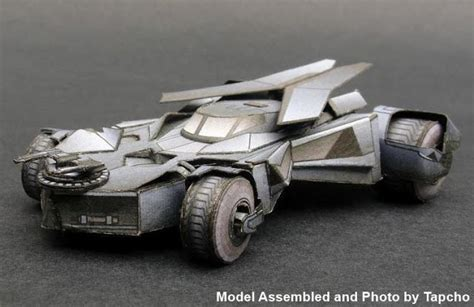 Batmobile Papercraft - batman 2015 batmobile free vehicle paper model