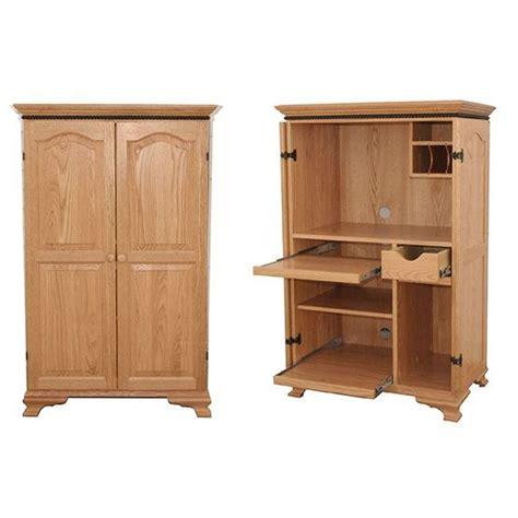 mini armoire mini computer armoire amish crafted furniture