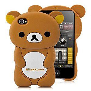 Rilakkuma Brown Iphone All Hp 3d rilakkuma detachable for iphone 4 and 4s