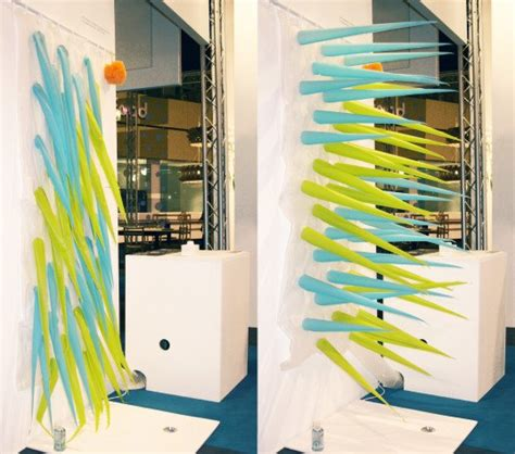 Teh Eco 1 Dus the spiky shower curtain will kick you out of the shower