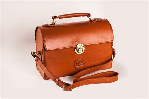 Handmade Leather Luggage - custom d16 bag update digitalbolex