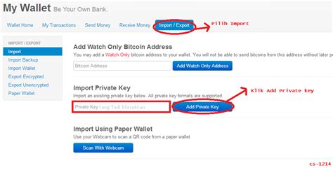 Cara Membuat Wallet Address Bitcoin | cara membuat address wallet bitcoin menjadi unik cybshare