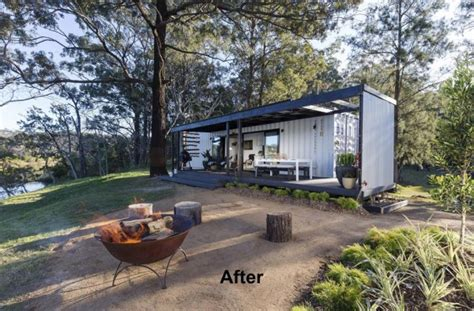 Small Homes 50k A Bloody Spectacular 50k Shipping Container Home Packed