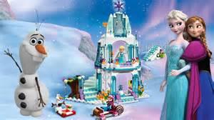 frozen portugues lego frozen completo castelo gelo da elsa anna turma kids