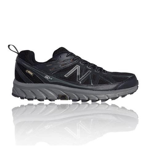 waterproof sports shoes new balance mt610gx4 mens black waterproof running sports
