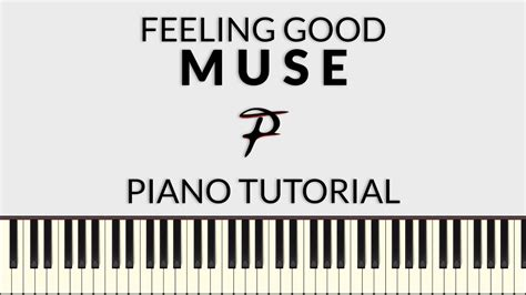tutorial piano muse muse feeling good piano tutorial francesco parrino