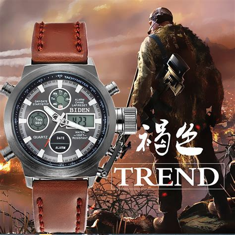 2016 watches luxury brand sports dive 50m led