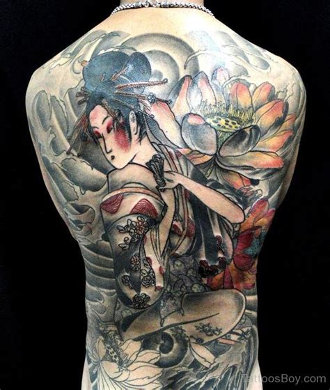tattoo geisha back japanese tattoos tattoo designs tattoo pictures page 2