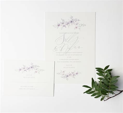 pretty moon wedding invitations a delicate and pretty illustrated wedding invitation with calligraphy by moon tide