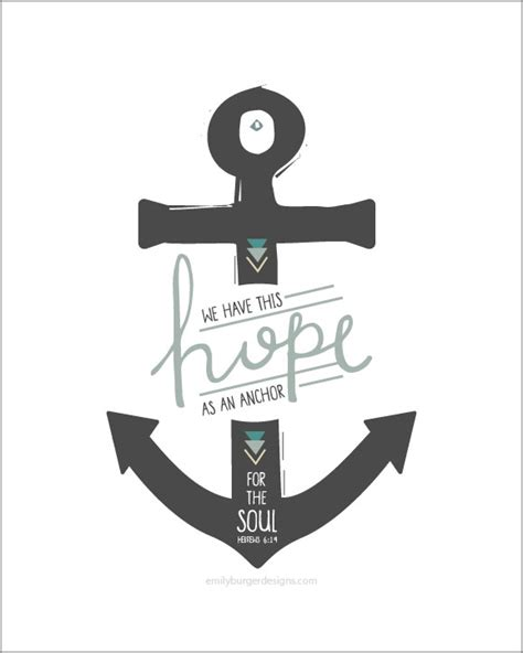 sale we have this hope as an anchor for the soul hand