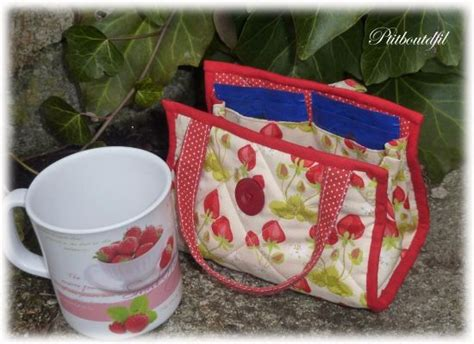 Mug Bags Patchwork Pattern - mug bag bags totes and lunches