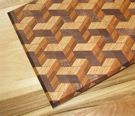block breads 3d tumbling block bread board by knotcurser
