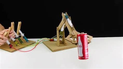 membuat robot tangan inilah cara mudah membuat tangan robot sederhana dengan