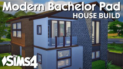 where is the bachelor house the sims 4 house building modern bachelor pad youtube