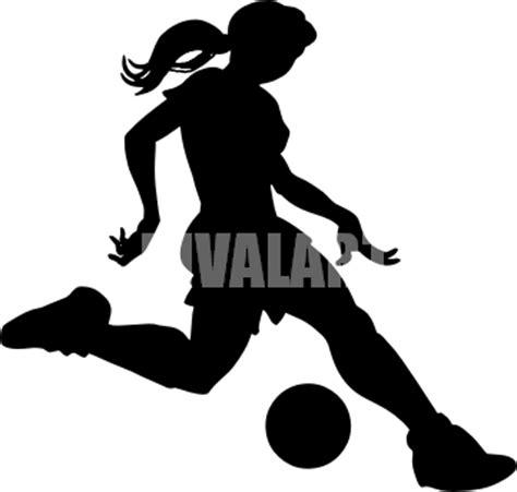 Female Soccer Players Clipart | www.pixshark.com - Images ... Girl Soccer Silhouette Clip Art