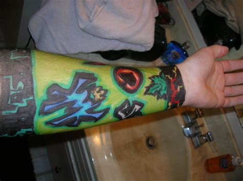 kmk tattoos kmk sleeve by ecroy on deviantart