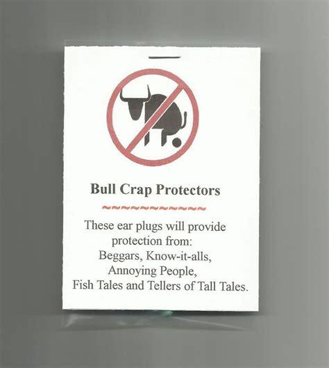 Gift Card Novelty And Souvenir Shops - new homemade bull crap protectors novelty gag gift prank joke party favor ebay
