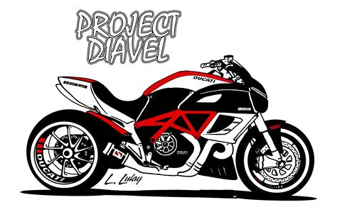 Sticker Ducati Diavel by Project Diavel Ducati Diavel Lulay S