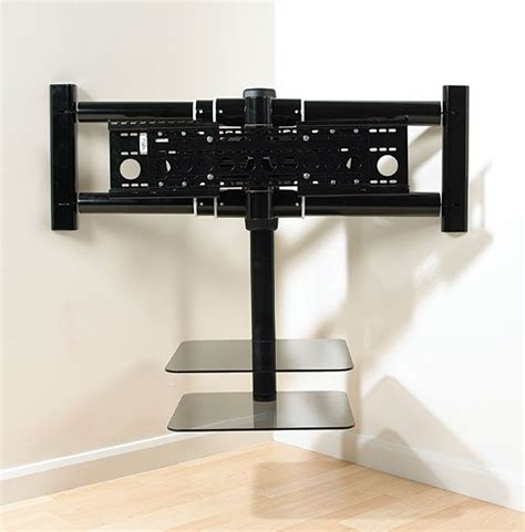 Flat Screen Tv Wall Mount With Shelf by 25 Best Ideas About Corner Tv Wall Mount On