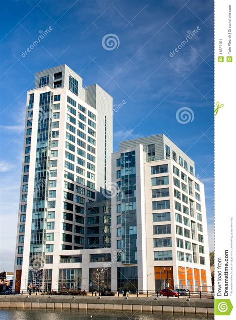 appartments in liverpool modern apartments in liverpool stock image image 11827101