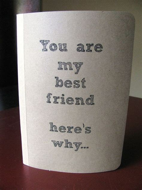 You are my best friend here's why   5 x 7 journal