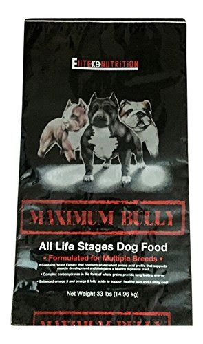 maximum bully food best food for pit bulls to gain top 5 chosen brands 2017