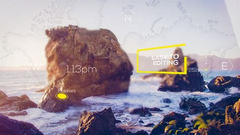 Travel Slideshow Special Events After Effects Templates Travel Slideshow After Effects Template