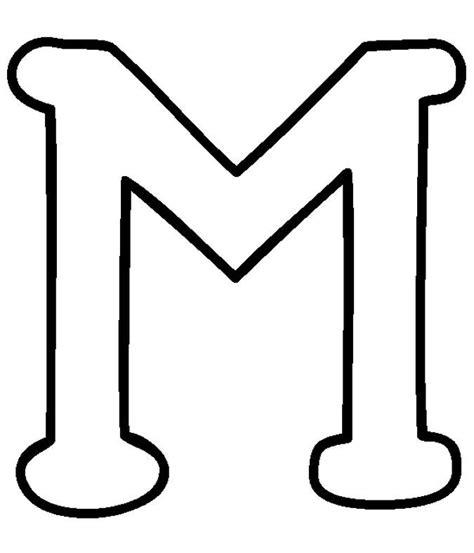 moldes de letra m moldes de letras mai 250 sculas