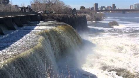 Rideau Falls by Rideau Falls With Jayda And Ian April 16 2015