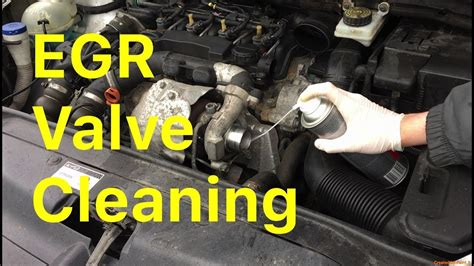 clean  egr valve  removing  youtube