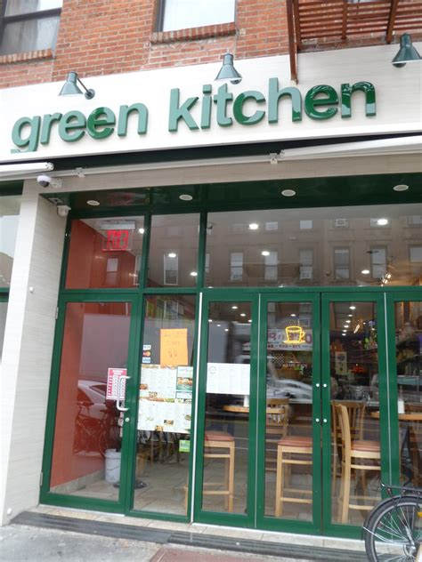 park slope restaurant shutters merges with green kitchen - Green Kitchen Park Slope