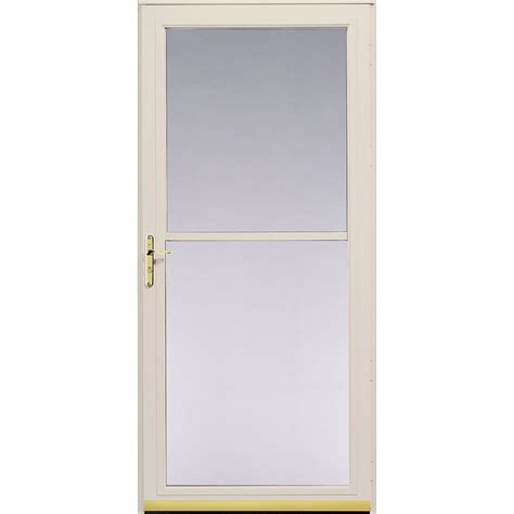Pella Doors Lowes by Shop Pella Poplar White 3800 Series View Safety