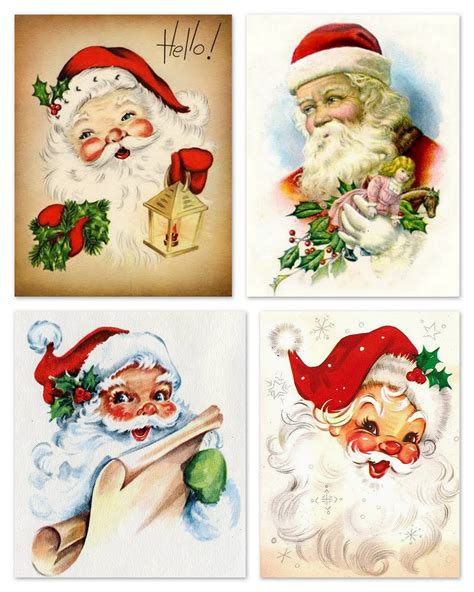 printable christmas cards vintage magic moonlight free images a christmas gift vintage