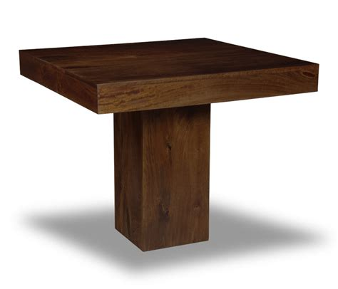 Cube Dining Table Mango 90cm Cube Dining Table Trade Furniture