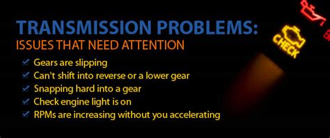 common transmission problems 5 signs solutions thurston county transmission
