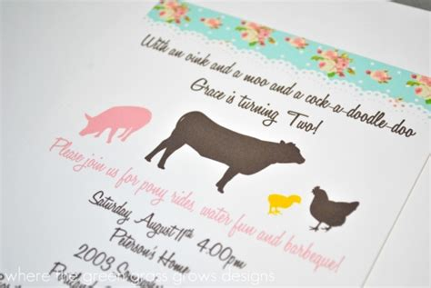 oink a doodle moo food challenge shabby chic farm 187 where the green grass grows designs