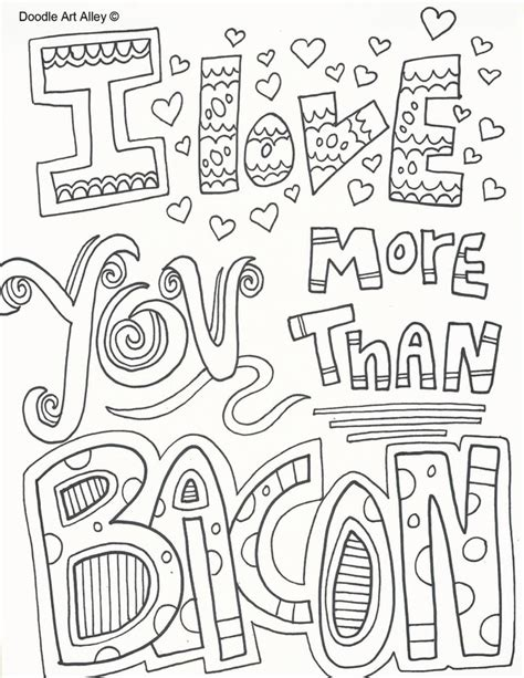 i love you more coloring pages valentines day coloring pages doodle art alley