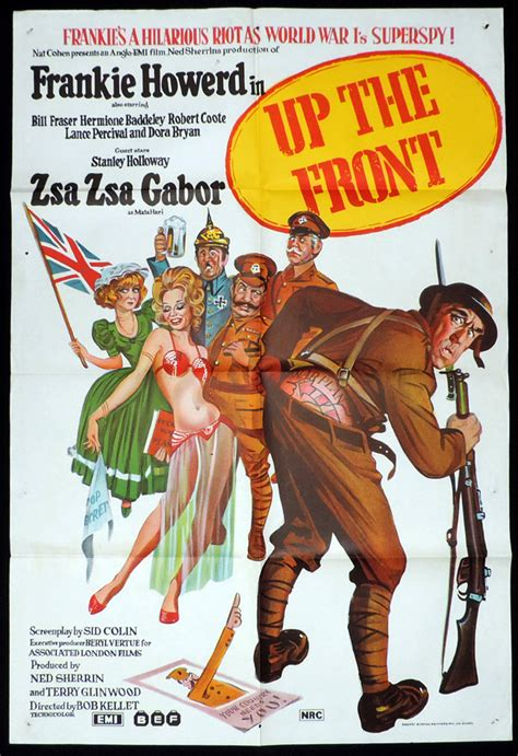 film up the front up the front frankie howerd one sheet movie poster