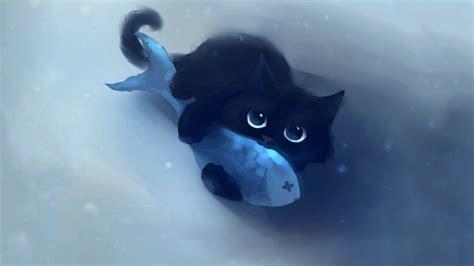 Anime Cat by Anime Cat Desktop Wallpaper Wallpaper Wiki