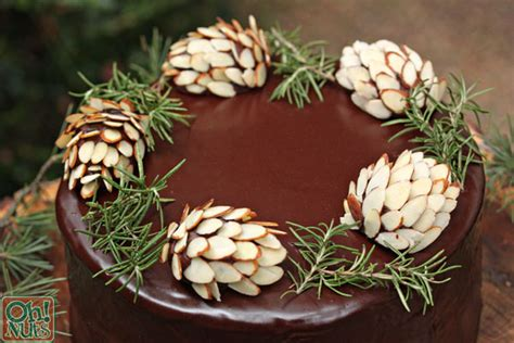 How To Make Cone For Cake Decoration how to make chocolate pine cones oh nuts