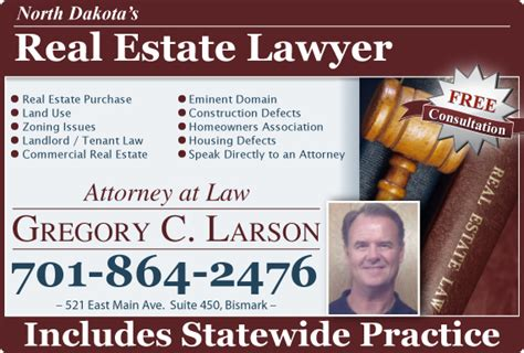find bismarck real estate lawyers attorney bismarck nd
