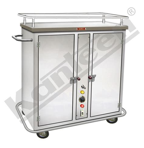 Pre Rinse Kitchen Faucets Food Tray Trolley For Hospital Food Service Food