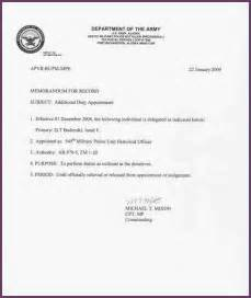 memorandum for record army template best template